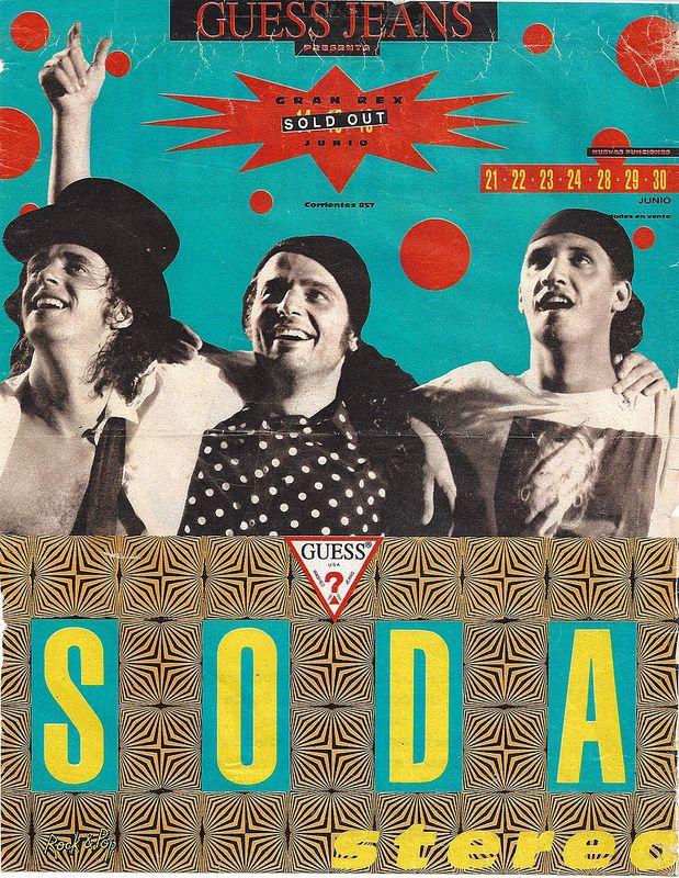 Conciertos en #Corrientes #GustavoCerati - #SodaStereo
