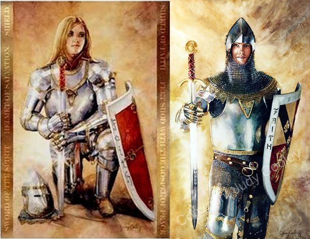 armor of god painting judy cooley - Google Search