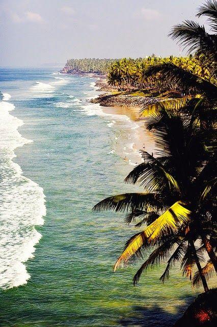 Kerala - Varkala Beach photo : FreakyLeo