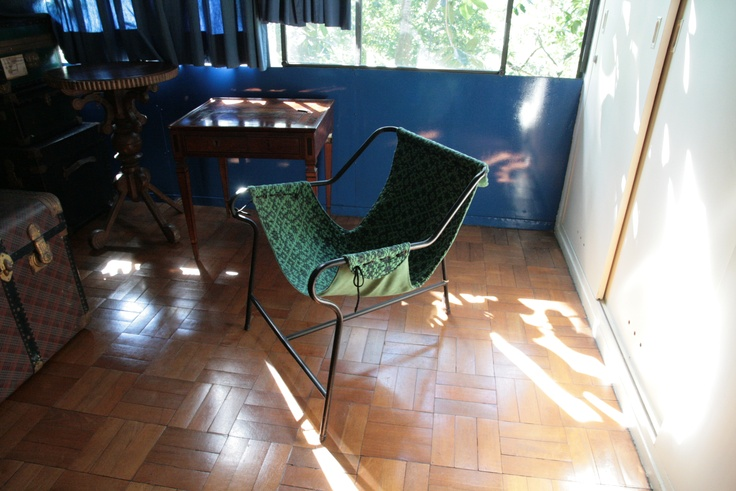 Chair by Brazilian designer Lina Bo Bardi.