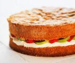 """Sockerkaka gör man enligt """"Vår kokbok"""" istället och smaksätter med citron."""
