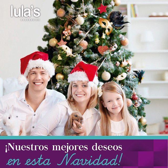 #Lulas te desea de corazón una muy feliz Navidad, que en tu hogar se encienda la luz de la fe y el amor