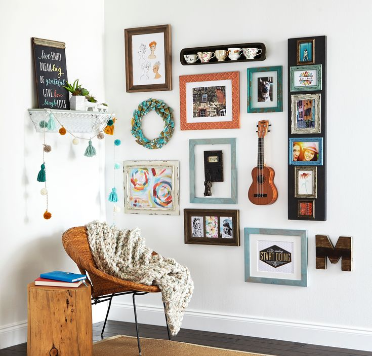 Learn How To Update Your Home Decor Using The Savannah Gallery Wall  Available At Your Local Michaels Store.