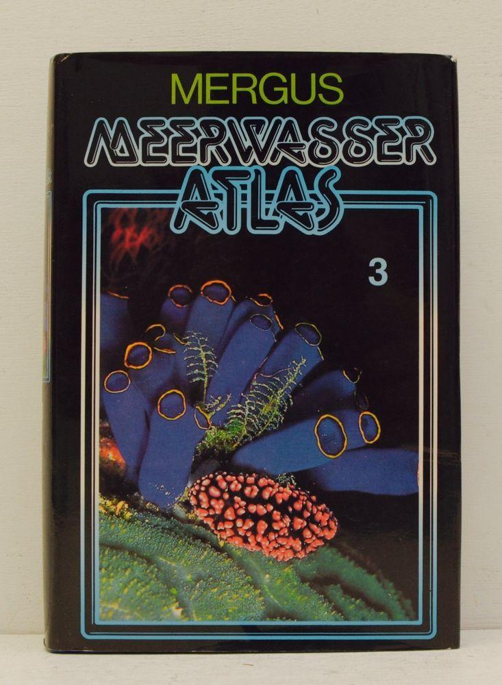 MEERWASSER ATLAS 3 WIRBELLOSE TIERE 1995 Erhardt Moosleitner