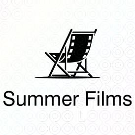 A logo from razvaniordache at stocklogos.com. I like how the film looks like a beach chair.