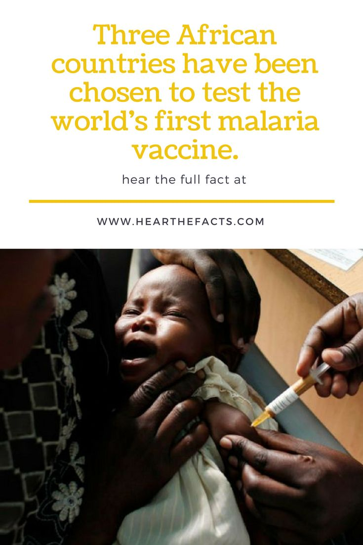 HEALTH NEWS ARTICLE:Three African countries have been chosen to test the world's first malaria vaccine.  http://tinyurl.com/k7h2584  HEY Tells Us Your Thoughts On The Matter?