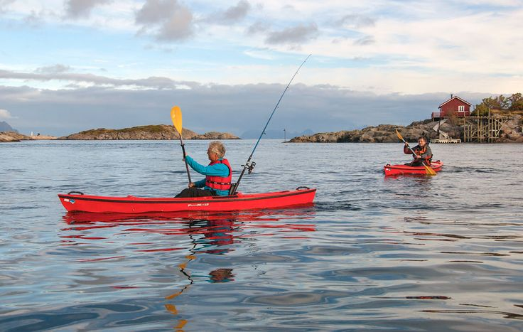 Utleie av fiskekajakk i Lofoten | Henningsvær Rorbuer