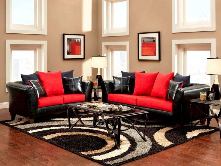 Beste Von Dekoideen Wohnzimmer Rot