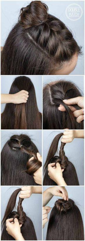 42 Best Pinterest Hair Tutorials #pinterest #tuto…