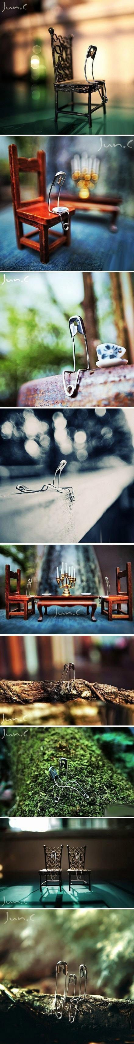 creative photography: Paperclips
