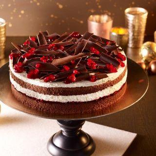Csokoládés áfonyatorta