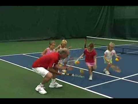 QuickStart Tennis - Ages 5 & 6: Bungee Jump - YouTube