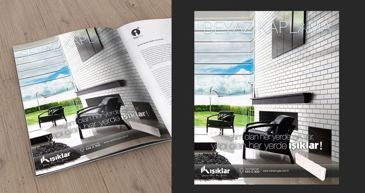 İlan Çalışması, 'IŞIKLAR'..  #yaratıcı #reklam #ilan #creative #advertising #insert