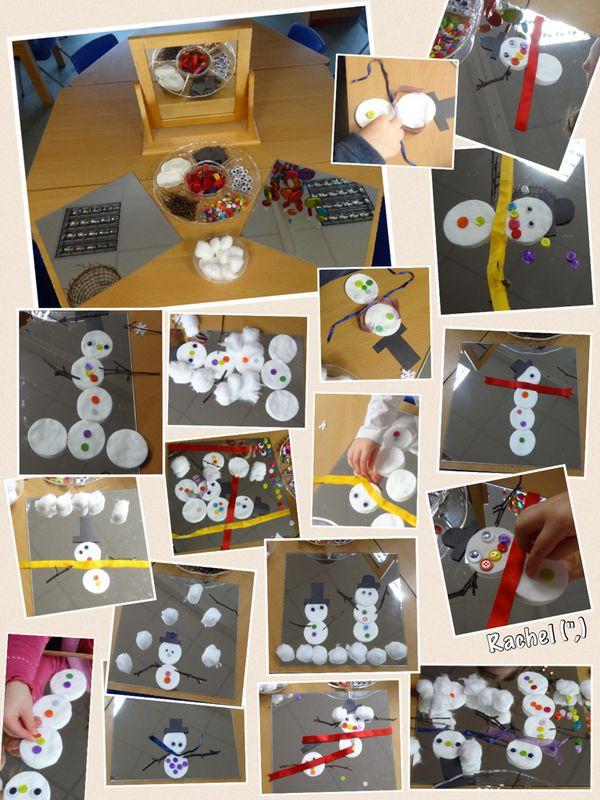 "Transient art snowmen from Rachel ("",)"