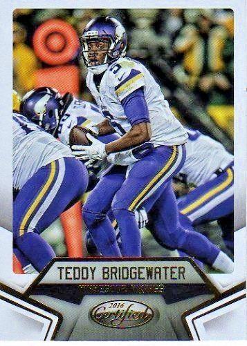 2016 Certified #95 Teddy Bridgewater Team: Minnesota Vikings $1.25