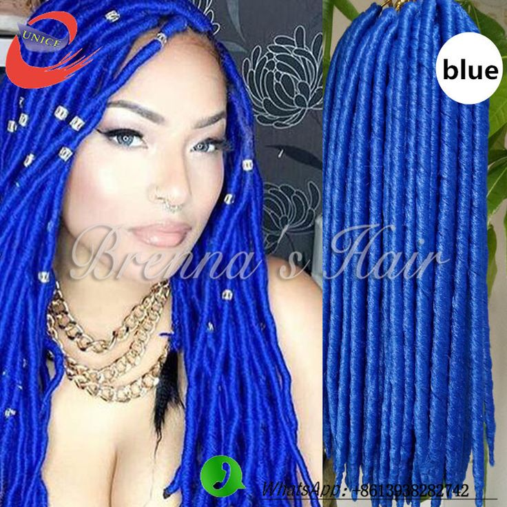 Find more bulk hair information about 24strandspcs crochet braids find more bulk hair information about 24strandspcs crochet braids locs braids faux locs braid hair 18 blue synthetic dreadlock extensions kaneka pmusecretfo Images