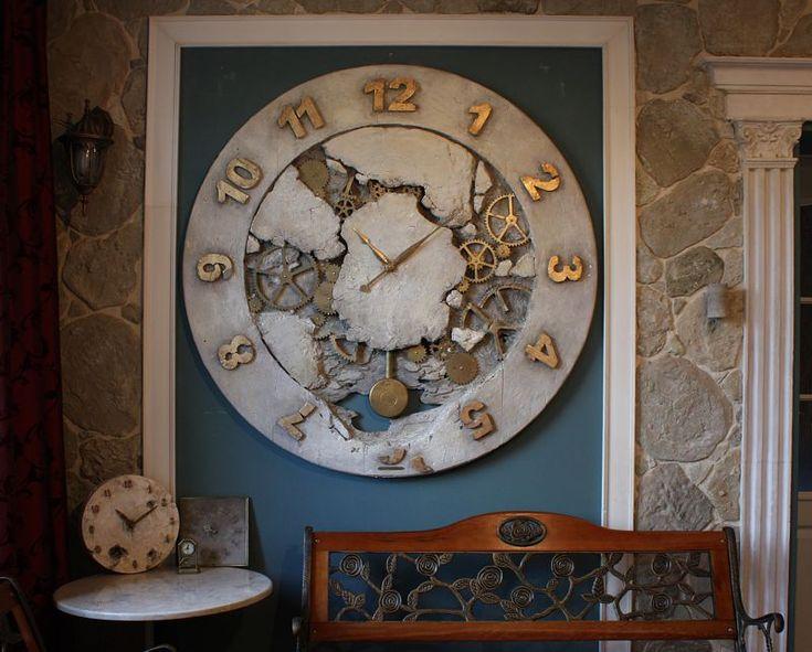Giant Clock Loft Design125x5cm
