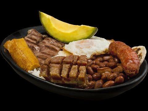 bandeja paisa -Preparala aunque estes afuera-Recetas Cocina Colombiana P...