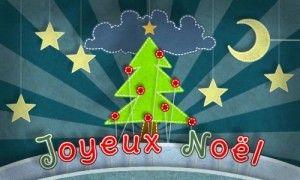 Un Noël de papier - Carte de voeux - Ecard Christmas - Freebie