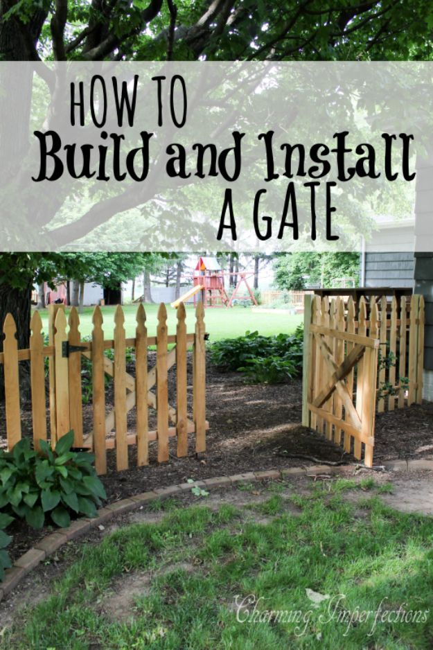 36 Diy Fences And Gates To Showcase Your Yard Backyard Fences