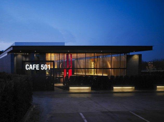 Elliott + Associates Architects designed Café 501 in Oklahoma City, Oklahoma.