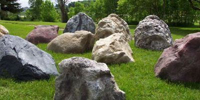 55 best images about rocks and boulders on pinterest for Landscaping rocks delivered