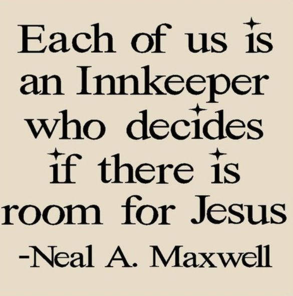 We are all an innkeeper