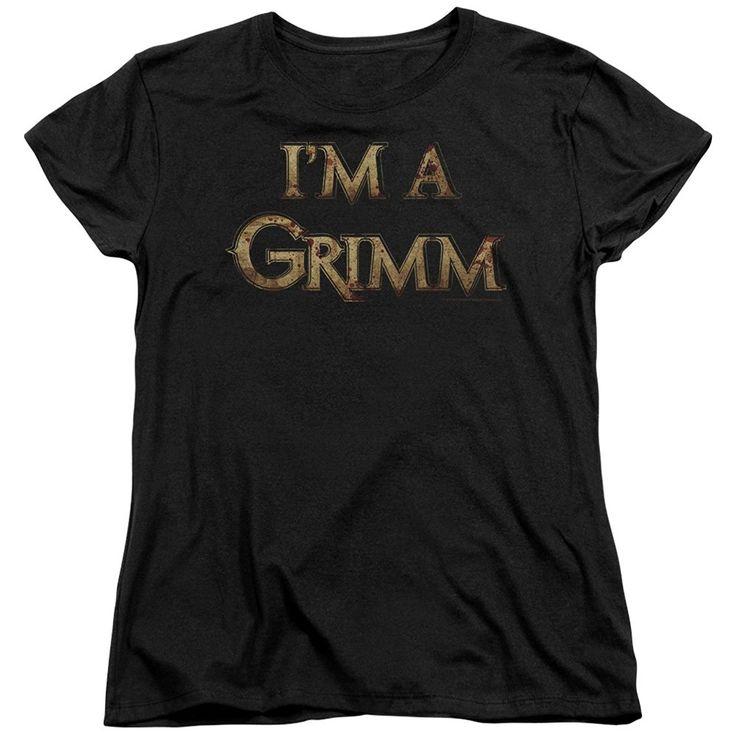 Grimm- I'm a Grimm Womens T-Shirt