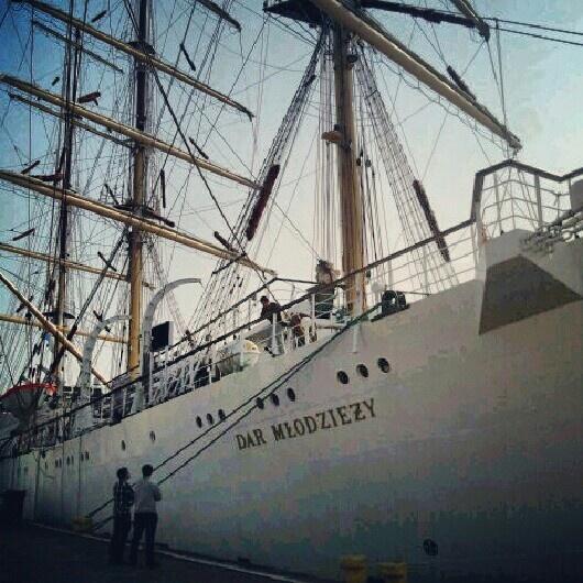 Sailing Dar Młodzieży in Szczecin