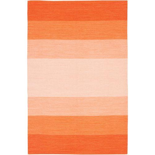 India Ombre Cotton Rug in Orange from PoshTots $124