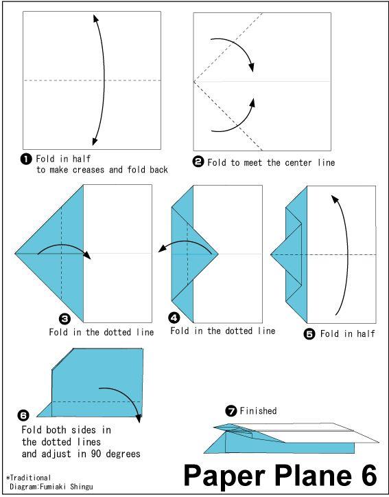 Cara Membuat Pesawat Kertas Yang Bisa Terbang Super Jauh