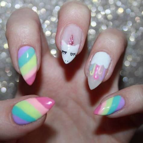 Magical Unicorn Nail Designs You Will Go Crazy - Styles Art