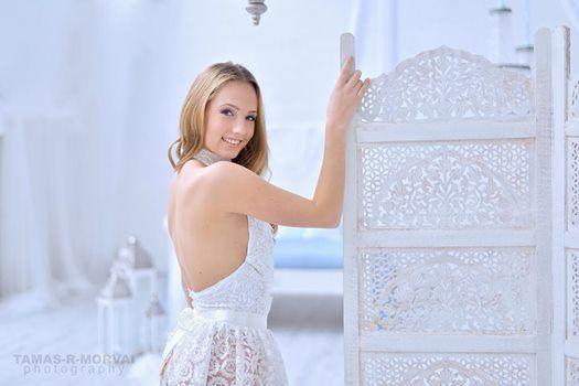 SZONJA DUDIK cocktail dress Princess collection