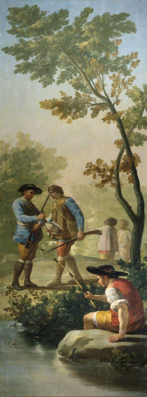 Goya en El Prado: El pescador de caña