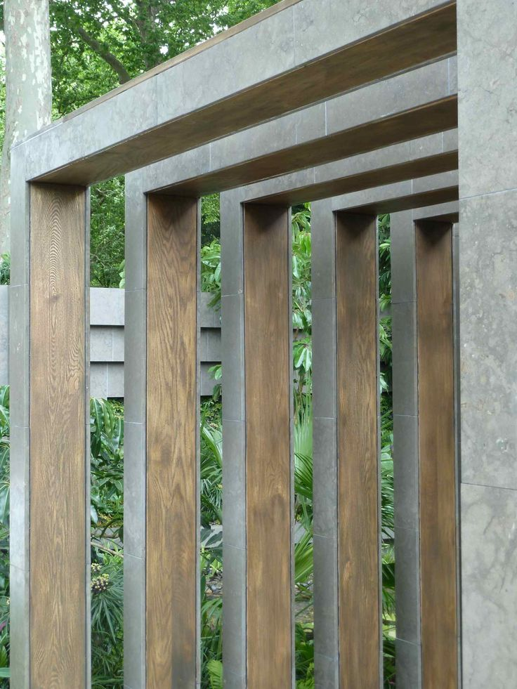 contemporary pergola - Chelsea Flower Show 2011 by Amphibian Designs - James Wong & David Cubero
