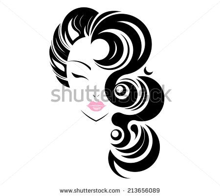 found some free vector relate beauty salon logo design