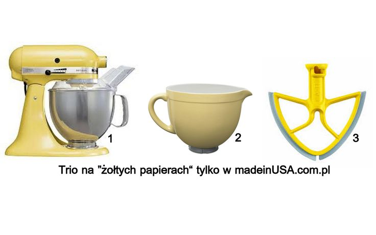 Kitchenaid artisan majestic yellow mixer and ceramic bowl
