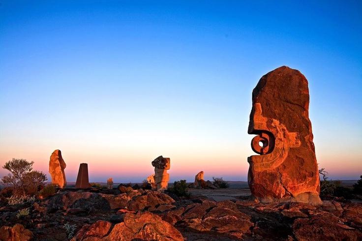 David Haworth | The Sculpture Symposium near Broken Hill, NSW