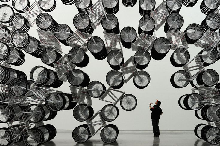 Pedal power - The Big Picture - Boston.com: Ai Weiwei, Art Crafts, Artists Ai, Art Blog, Contemporary Artists, Bikes, Art Museums, Forever Bicycles, Bike Art