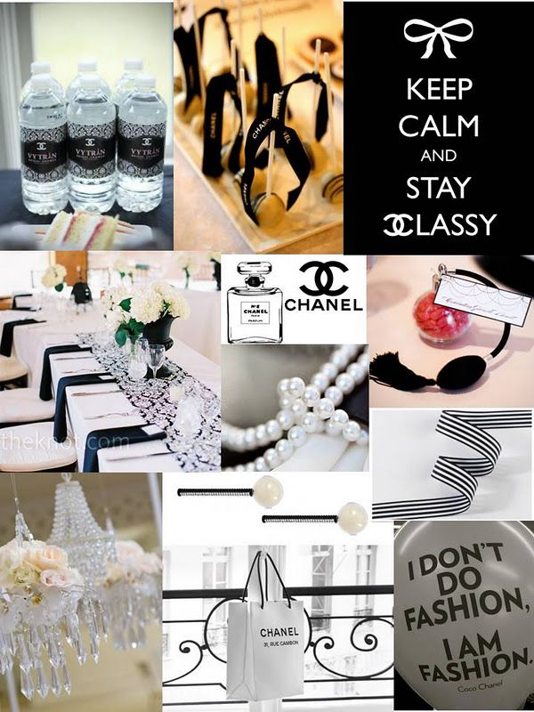 Coco Chanel Theme party