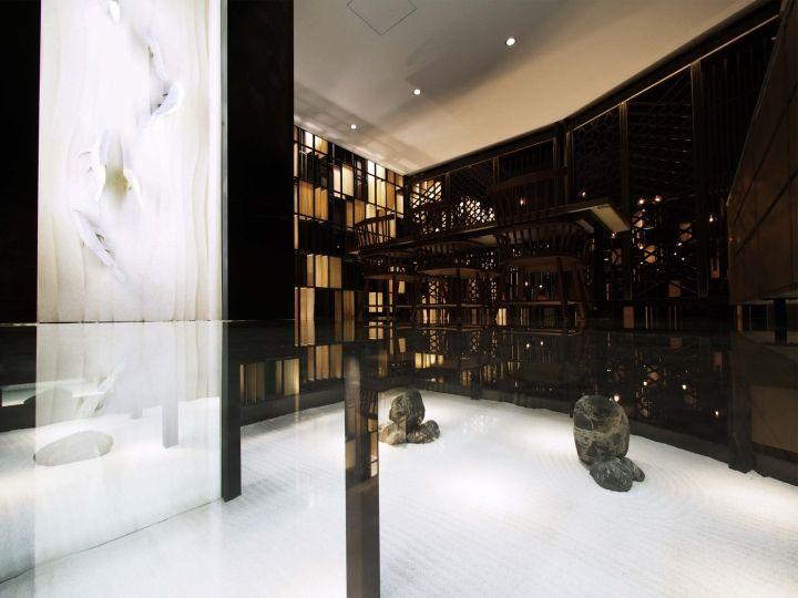 SUIGETSU Japanese Restaurant By PRISM DESIGN Chongqing China Retail Design