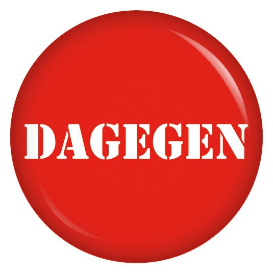 Button Dagegen – Elke Hagemann