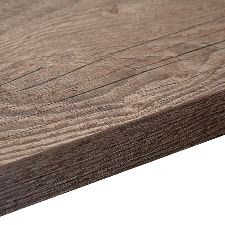 38mm B&Q Mountain Timber Laminate Square Edge Kitchen Breakfast Bar | Departments | DIY at B&Q
