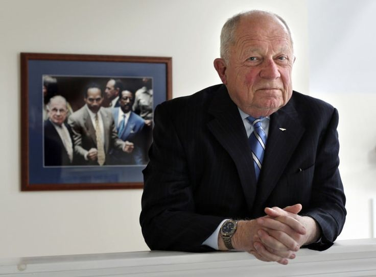O.J.'s last defender — F. Lee Bailey — is broke, disbarred and working above a hair salon