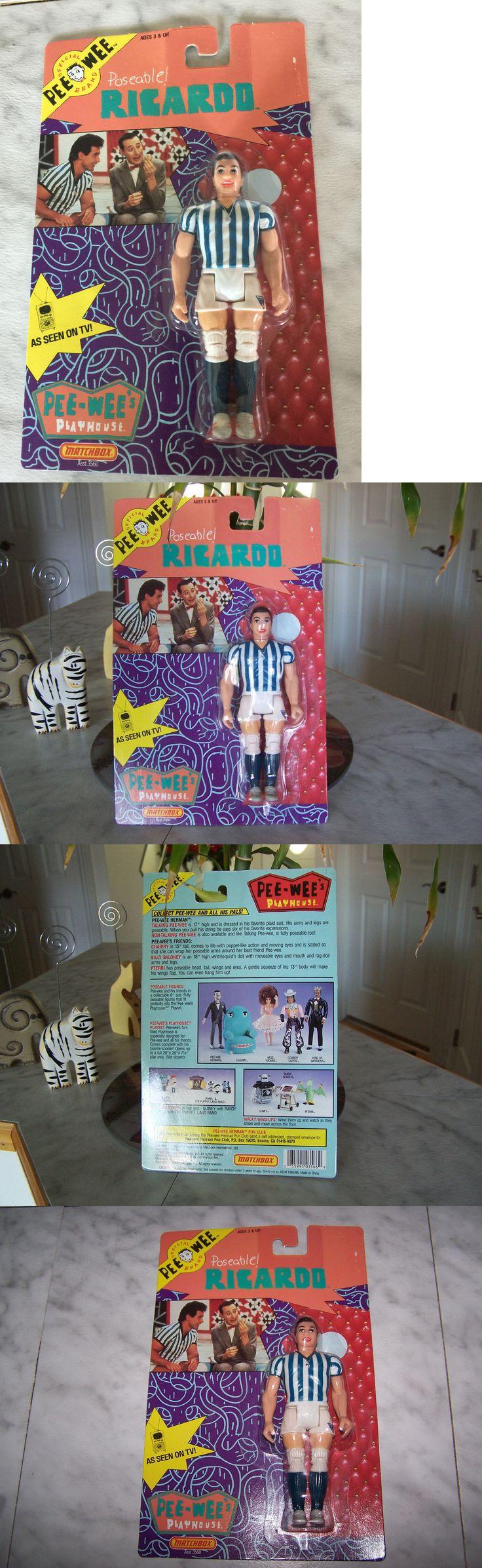 Pee-Wee Herman 20917: 1988 Pee Wee Playhouse Poseable Richardo Matchbox (New) -> BUY IT NOW ONLY: $49.99 on eBay!