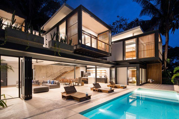 Joya Villas, in Costa Rica / Studio Saxe.  © Andres Garcia Lachner