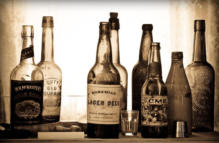 19th Century Liquor Bottles