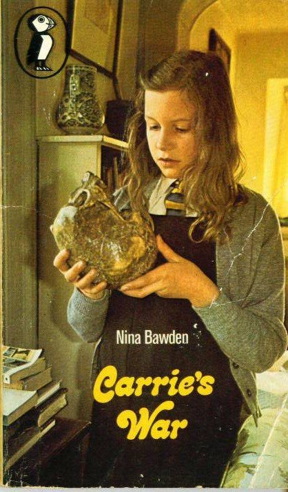 Carrie's War - I loved this TV series, it was spooky! And I found this very edition of this book donated to one of our charity shops! I bought it. :)
