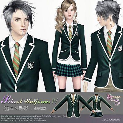 Sims 3 uniforms, clothing, fashion, bottom, top