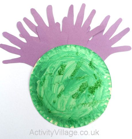 Paper Plate Thistle
